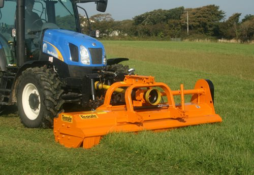 DUAL Flail Mower Hover