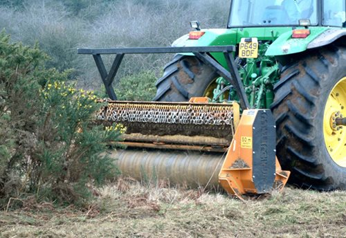 ECF (Cage Rotor) Forestry Mulcher