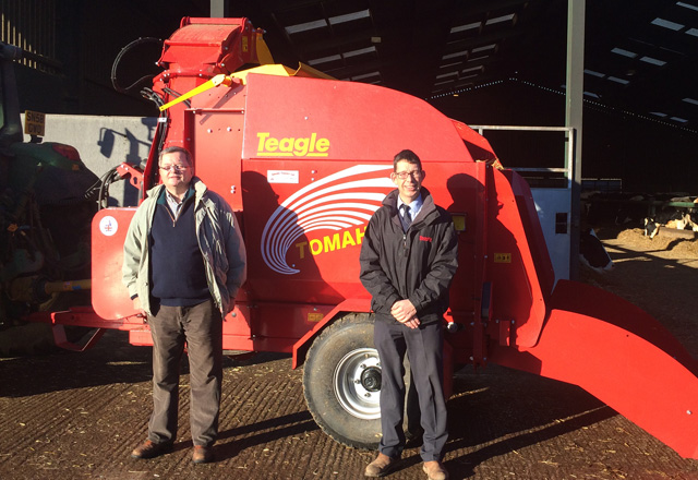 Dairy Farmer of the Year Chooses Teagle